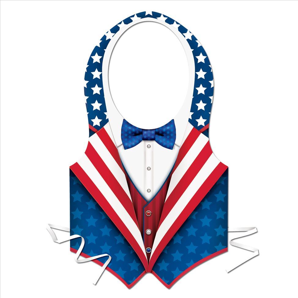 Uncle Sam Patriotic Vest.