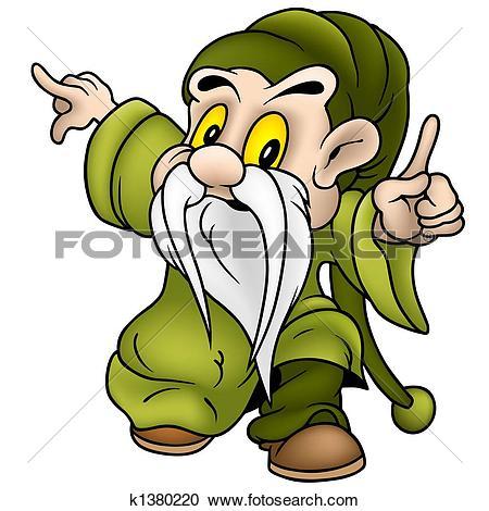 Stock Illustrations of Green Dwarf k1380220.