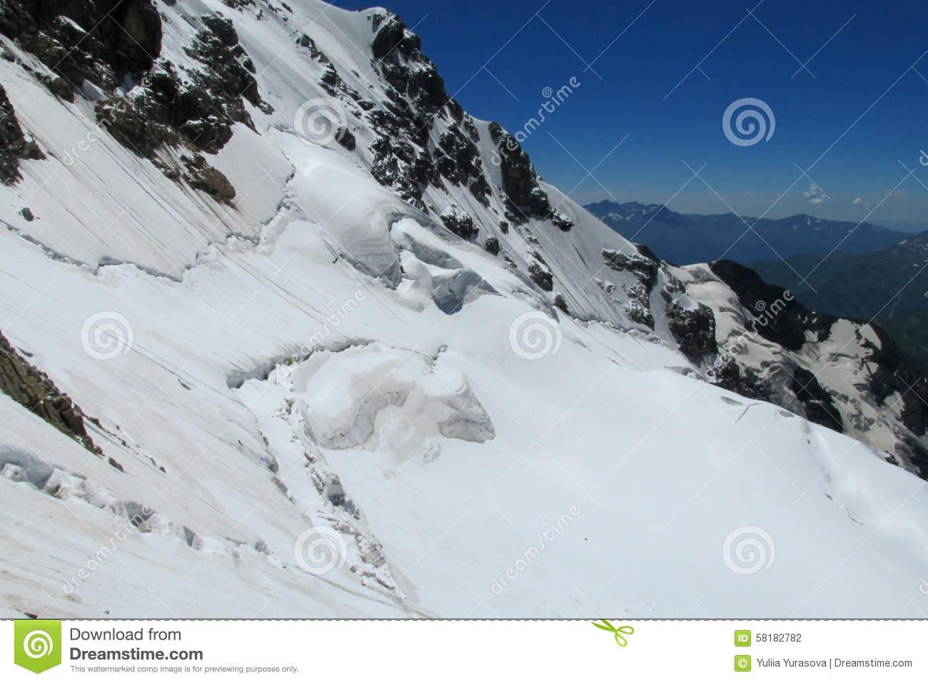 Bergschrund clipart #11