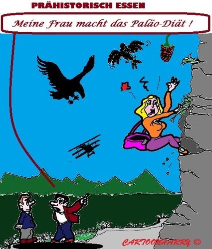 Paläo Diät By cartoonharry.