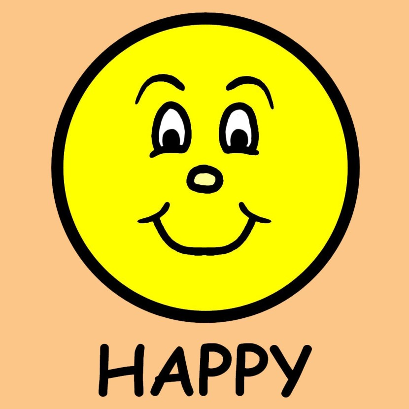 Free Clipart Of A Happy Person.