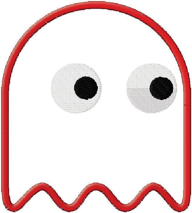 Pacman Ghosts Clip Art.
