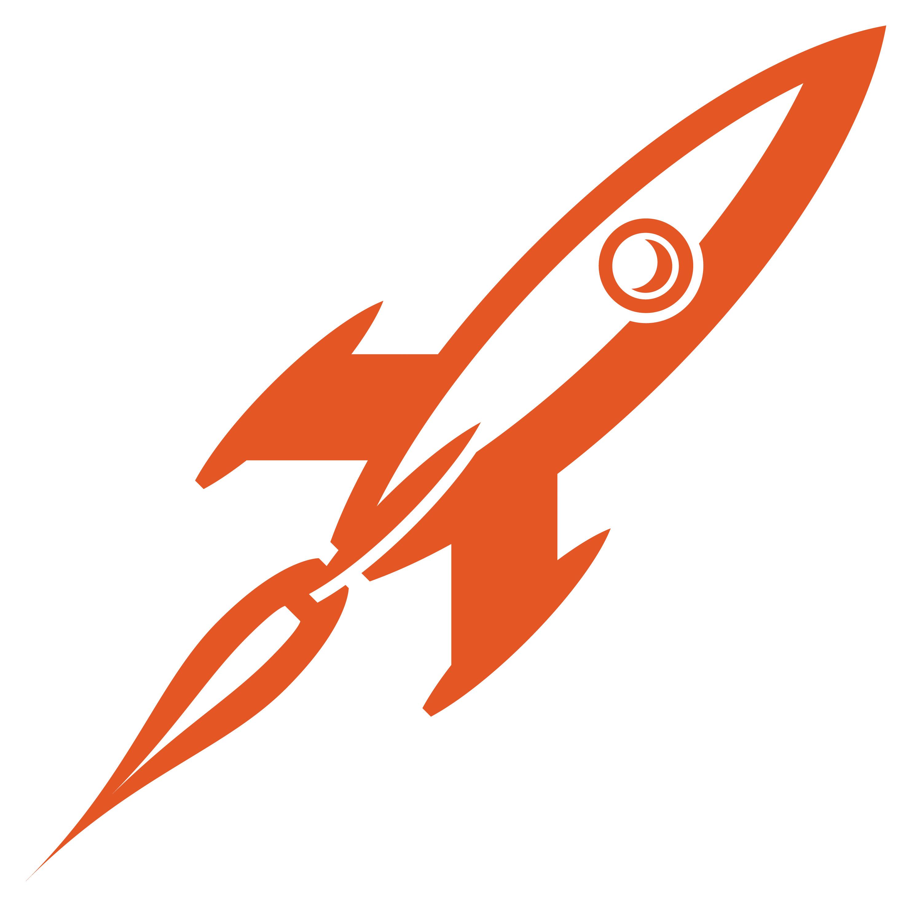 Rocket Launch Pad Clipart.