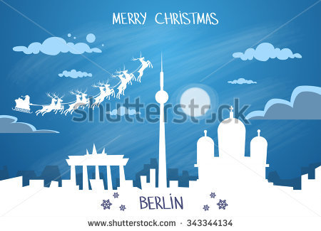 Berlin Night Stock Vectors & Vector Clip Art.