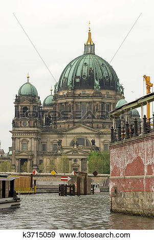 Stock Illustration of Berlin Cathedral k3715059.
