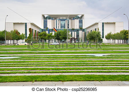 Pictures of Building of the Federal Government in Berlin.
