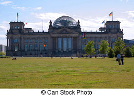 Stock Images of Berlin Government District.