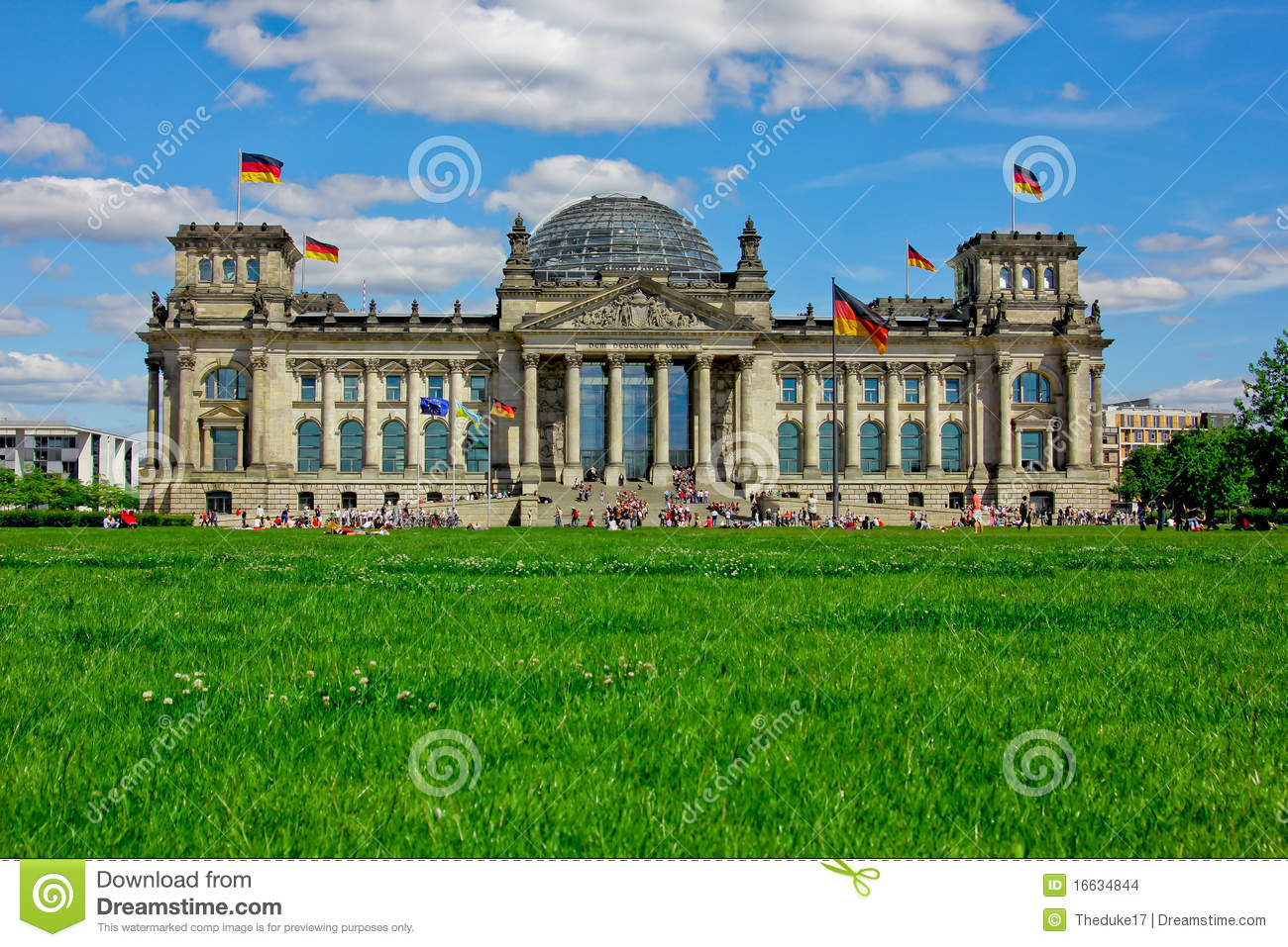 Berlin Government District Stock Images.