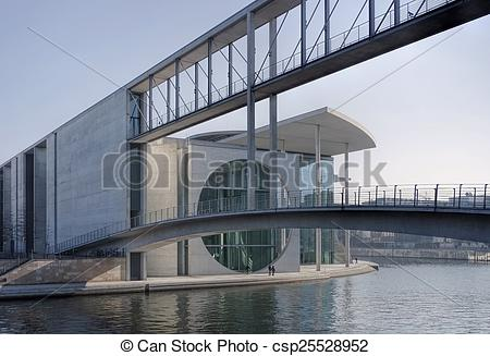 Stock Images of Berlin Government District csp25528952.