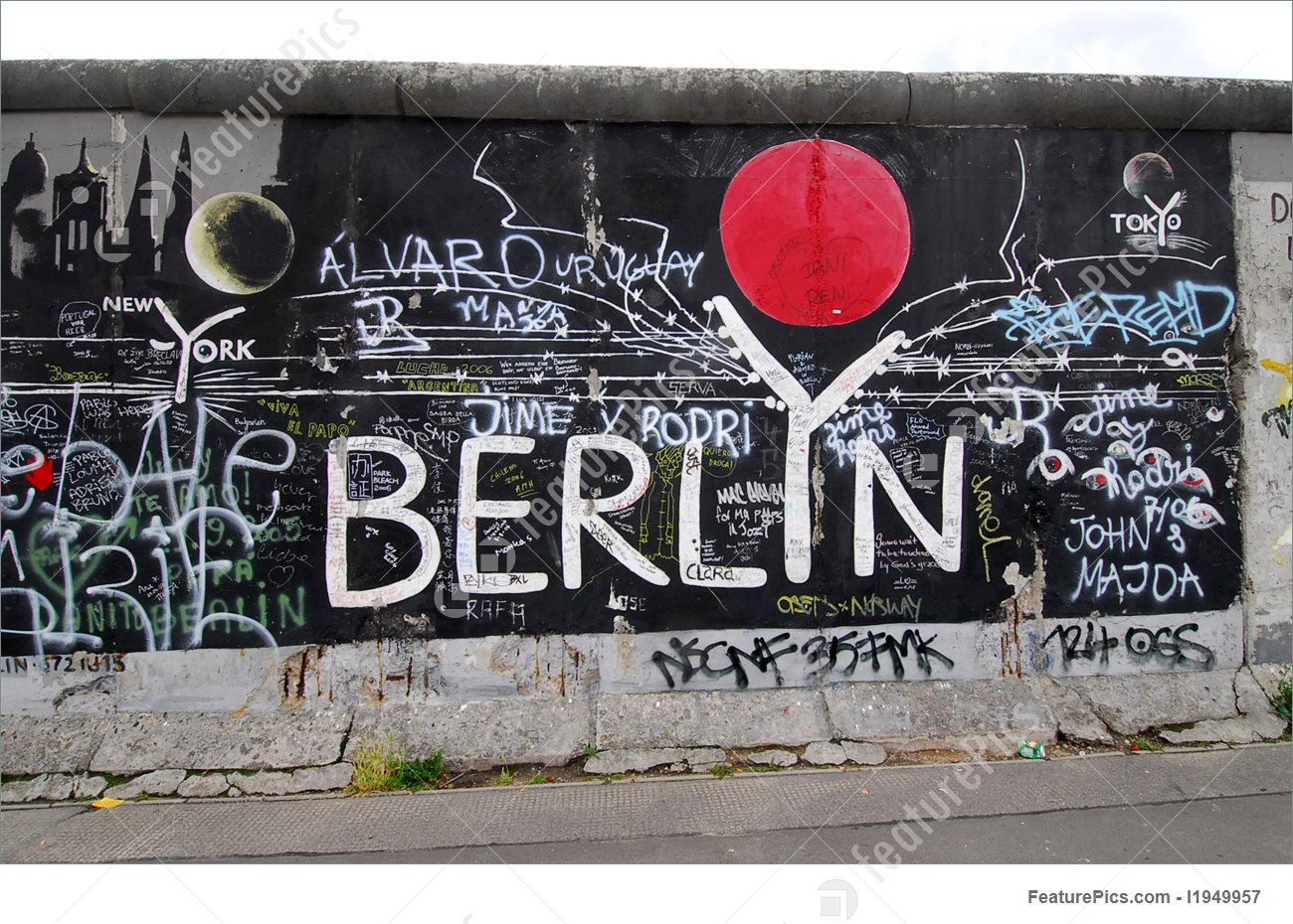 Non Figurative Art: Berlin Graffiti 020.
