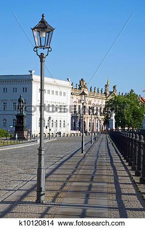Stock Photo of Street scene in Berlin.