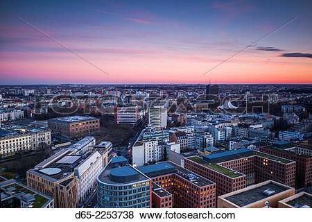 Pictures of Germany, Berlin, Mitte, Panorama Punkt.