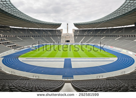 Olympiastadion Berlin Stock Photos, Royalty.