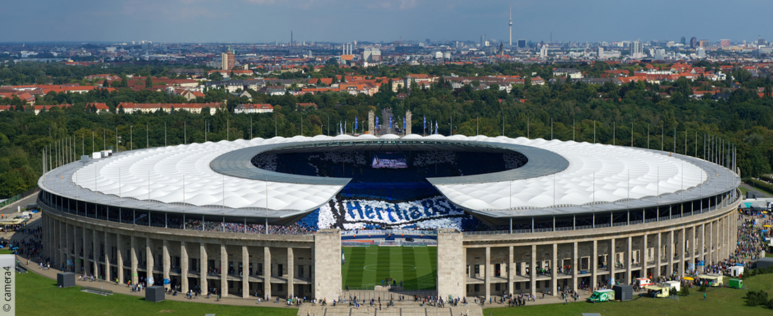 Berlin Olympic Stadium.