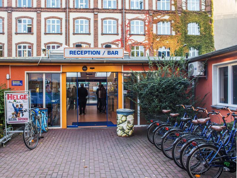 A&O Berlin Friedrichshain in Berlin, Germany.