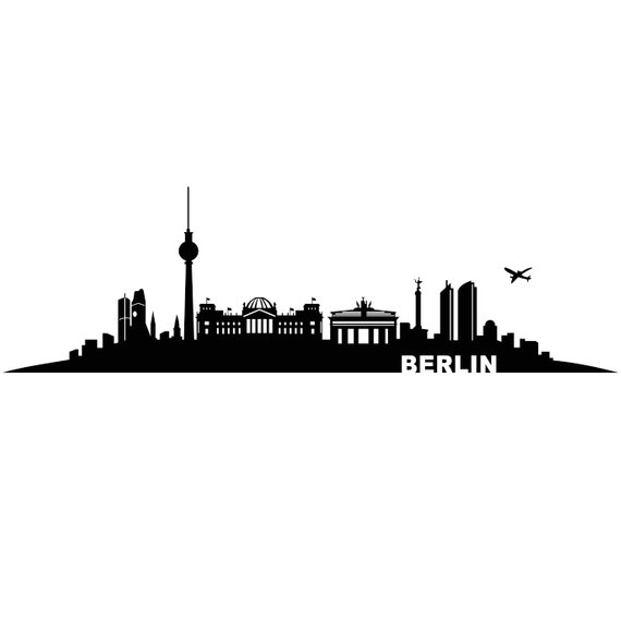Berlin City Germany Graphics SVG Dxf EPS Png Cdr Ai Pdf Vector Art.