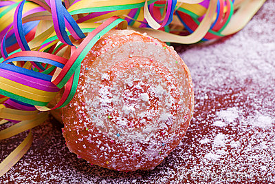 Berliner Pfannkuchen German Party Food Stock Photos, Images.