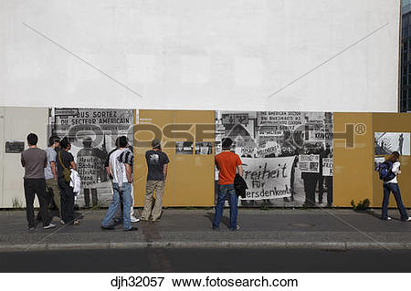 Picture of Germany, Berlin, Friedrich Strasse, Checkpoint Charlie.