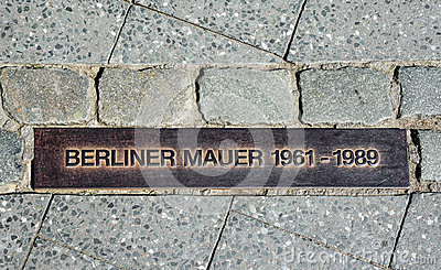 Berlin Wall (Berliner Mauer) Royalty Free Stock Photo.
