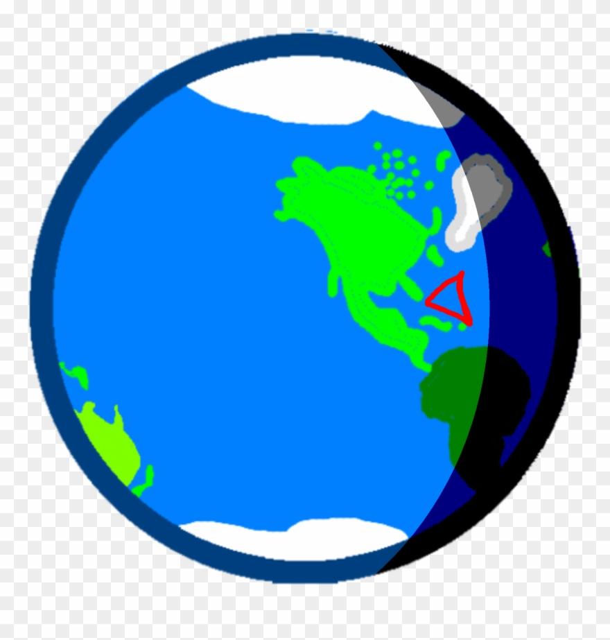 Earth Bermuda Triangle Body.