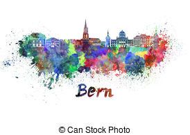 Bern skyline Illustrations and Stock Art. 17 Bern skyline.