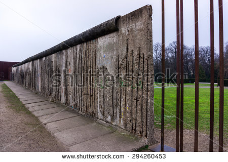 Berlin Wall Stock Photos, Royalty.