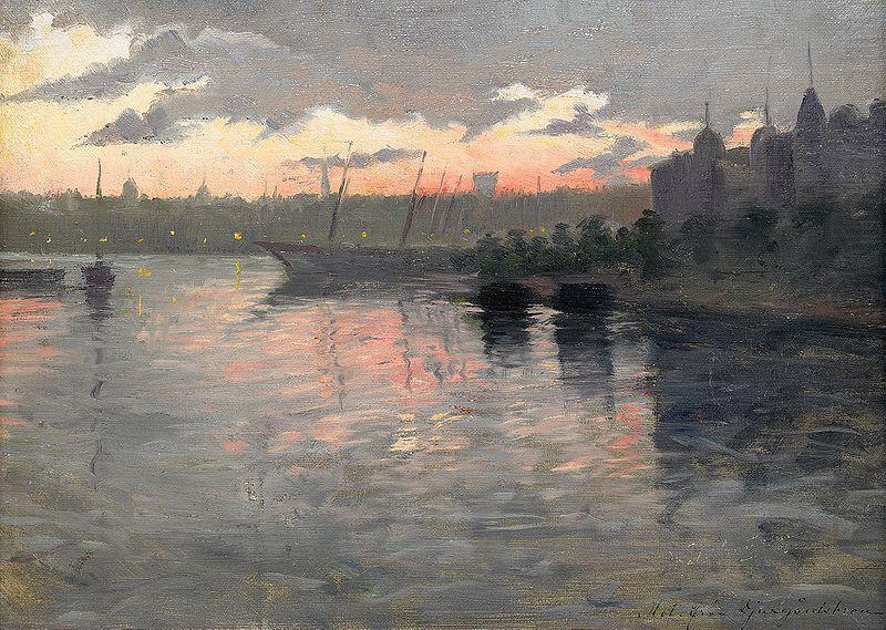 All Berndt Lindholm's Oil Paintings.