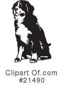 Berner Sennenhund Clipart #1.