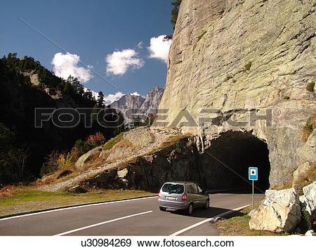 Stock Photograph of Switzerland, Europe, Bern, Berne, Sustenpass.