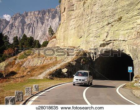 Stock Image of Switzerland, Europe, Bern, Berne, Sustenpass.