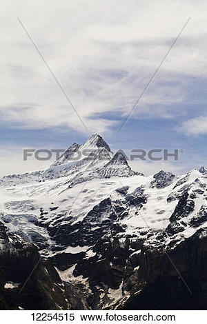 Stock Image of Jungfrau; Grindelwald, Bernese Oberland.