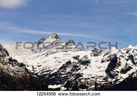 Pictures of Jungfrau; Grindelwald, Bernese Oberland, Switzerland.