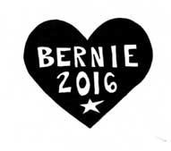 "Grassroots organizing for Bernie: Free ""Bernie Sanders"" Homemade."