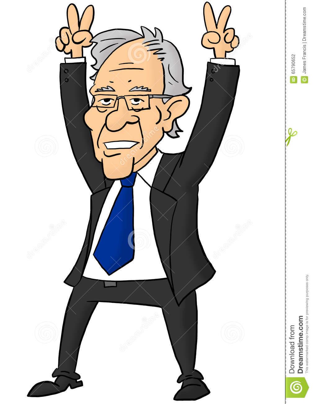 Bernie sanders clipart.