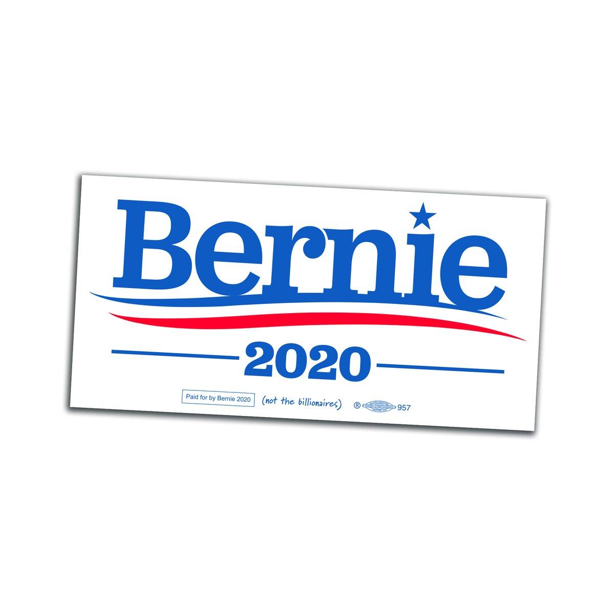 Bernie 2020 Sticker.