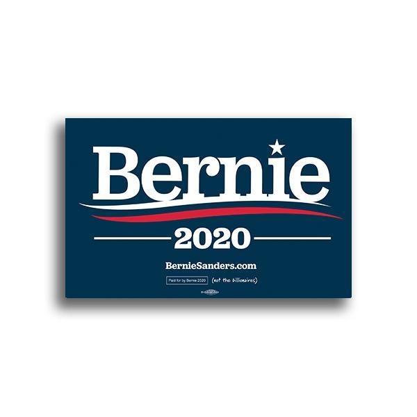 Bernie 2020 Rally Sign.