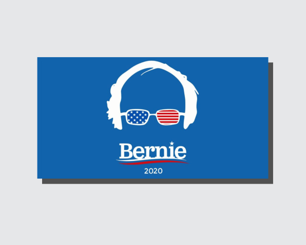 Which presidential candidate has America\'s favorite logo?.