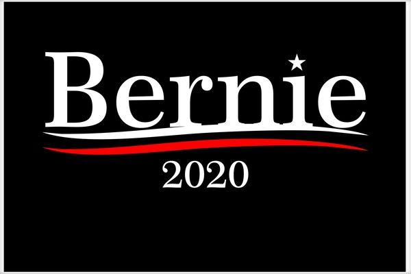 Bernie 2020 Sanders for President USA Election Poster.