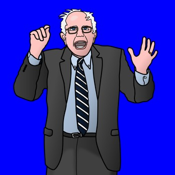Bernie Sanders Clipart and Paper Dolls.