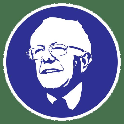 Bernie sanders stencil.