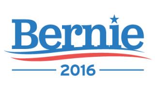 Bernie Sanders 2016 Vector Graphic.