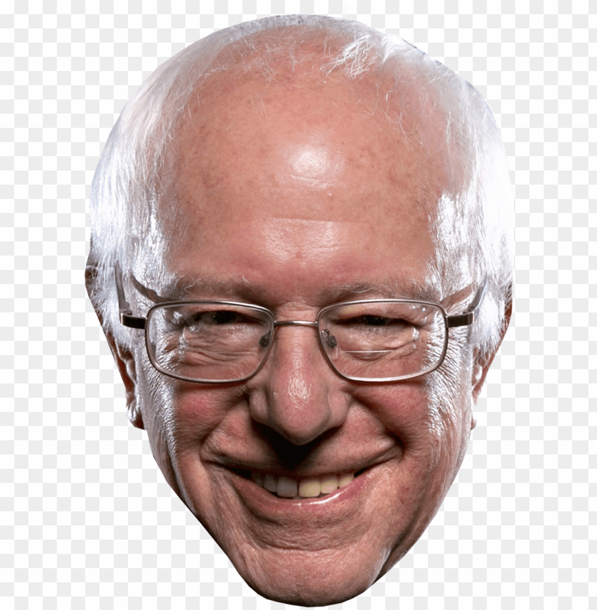 bernie sanders head png picture black and white library PNG.