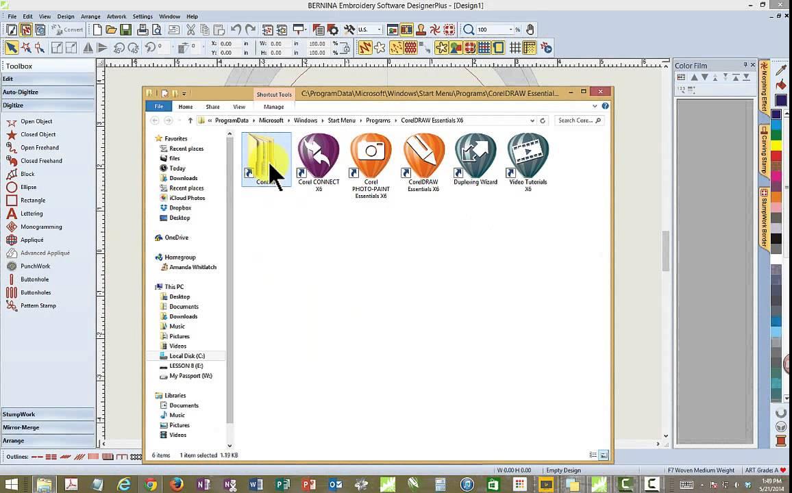 BERNINA Embroidery Software 7.