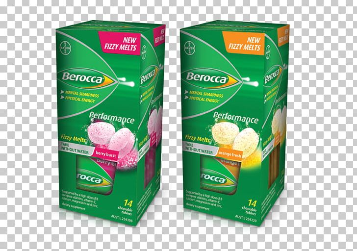 Berocca Effervescent Tablet Dietary Supplement Vitamin PNG.