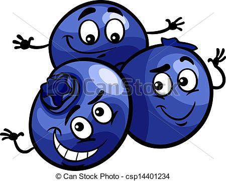 Berry blue clipart #10