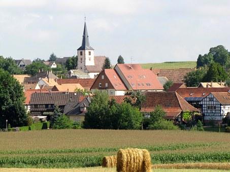 Farming, Village.