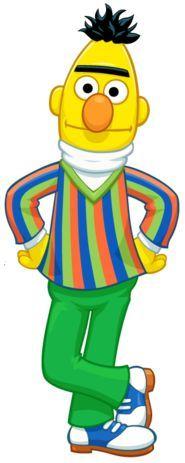 Bert clipart.