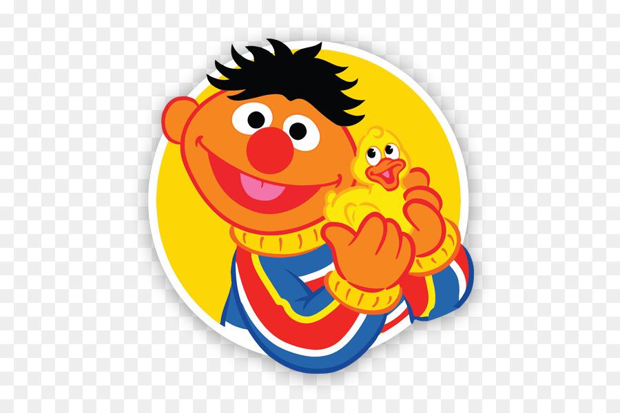 Bert Sesame Street png download.