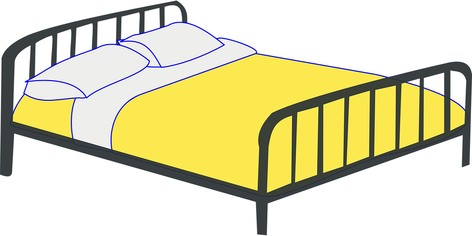 Free vector graphic: Bed, Berth, Double Bed.