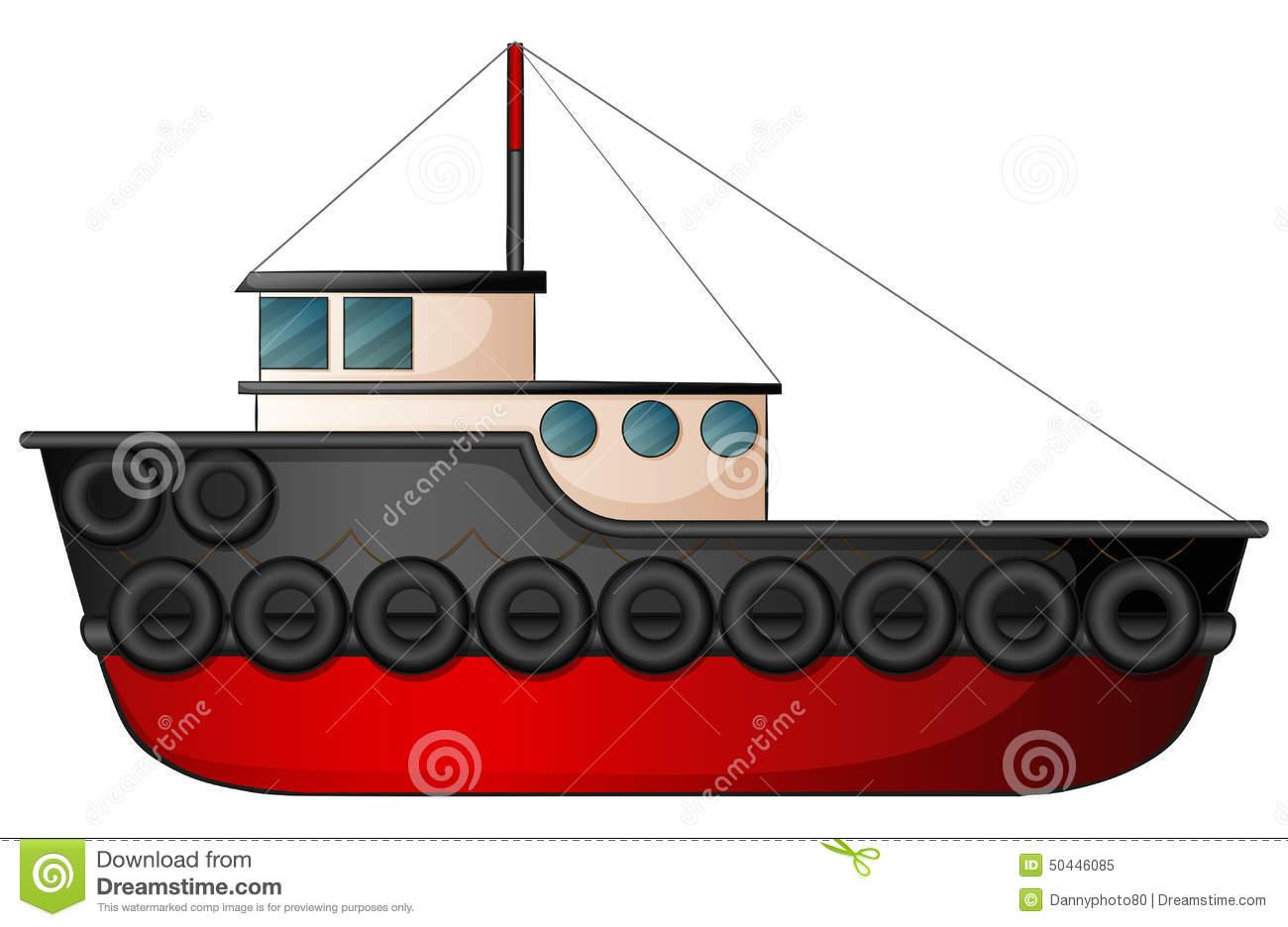 Tugboat Stock Illustrations.